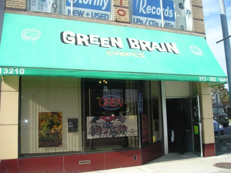 Green Brain Comics